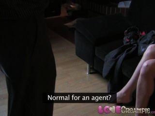 प्रेम Creampie Busty शौकिया लीक कास्टिंग वीडियो में पहली बार गुदा की कोशिश करता है