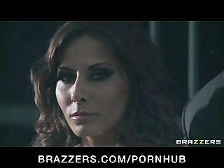 बिग टिट मैडिसन आइवी और Rebeca लिनारेस त्रिगुट में बकवास पर्नस्टारों
