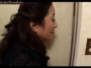 46yr पुराने जापानी माँ सिखाता नहीं उसके कदम बेटा (बिना सेंसर)