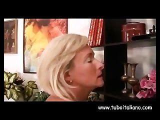 इतालवी परिपक्व युवा महिला Matura ई Porca