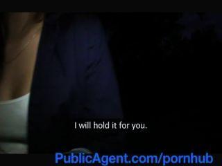Publicagent प्यारा एलेक्सिस क्रिस्टल एक Wanna मॉडल होना है