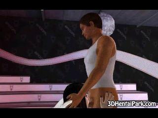 सेक्सी 3 डी श्यामला बड़ी तैसा एंजेल लड़कियां तंग बिल्ली गड़बड़ है