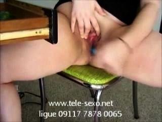 09117 7878 0065 Www.tele-sexo.net फुहार के साथ शौकिया Masterbation