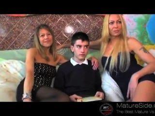 Supermilf माँ + लड़के 01 जोर्डी और डेनिएला Matureside से