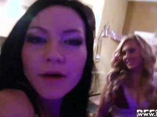 नंगा नाच Bachelorette सेक्स पार्टी में Bestfriendsforever हॉट बेब्स
