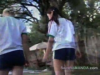 मिठाई अमांडा - फुटबॉल किशोर