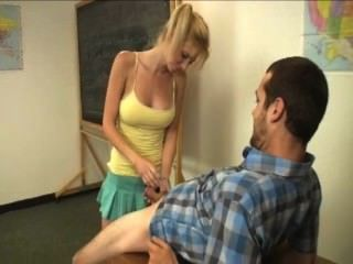 उसके शिक्षक छात्र जैक बंद