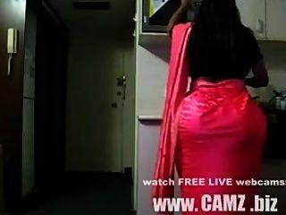 बिग गधा भारतीय गृहिणी Www.camz.biz से भारतीय