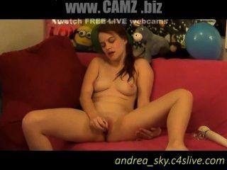 मेरे गिलास Dildo के साथ खेल - Www.camz.biz
