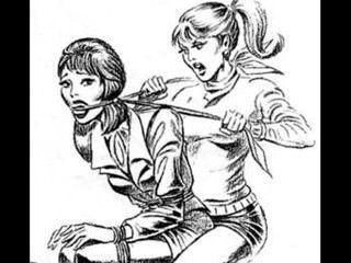 महिला बनाम महिला Catfight Tribbing बंधन अनूठे समलैंगिकों