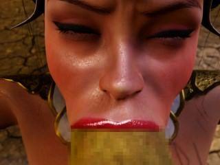 [3 डी एनिमेशन] भूत की दुल्हन ゴ ブ リ ン の 花嫁 (前夜 祭 篇)