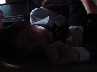 जापानी Blazor स्कूल लड़की Rachikankin Kayama 01