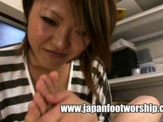 जापानी पैर की पूजा 19