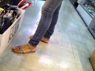 पैर और सैंडल Faceshot