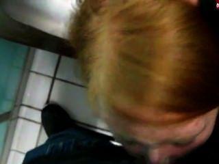 वीनस सार्वजनिक शौचालय में Bf बंद बेकार