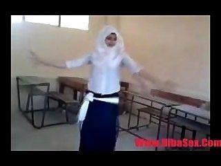 स्कूल में अरब Egypte नृत्य